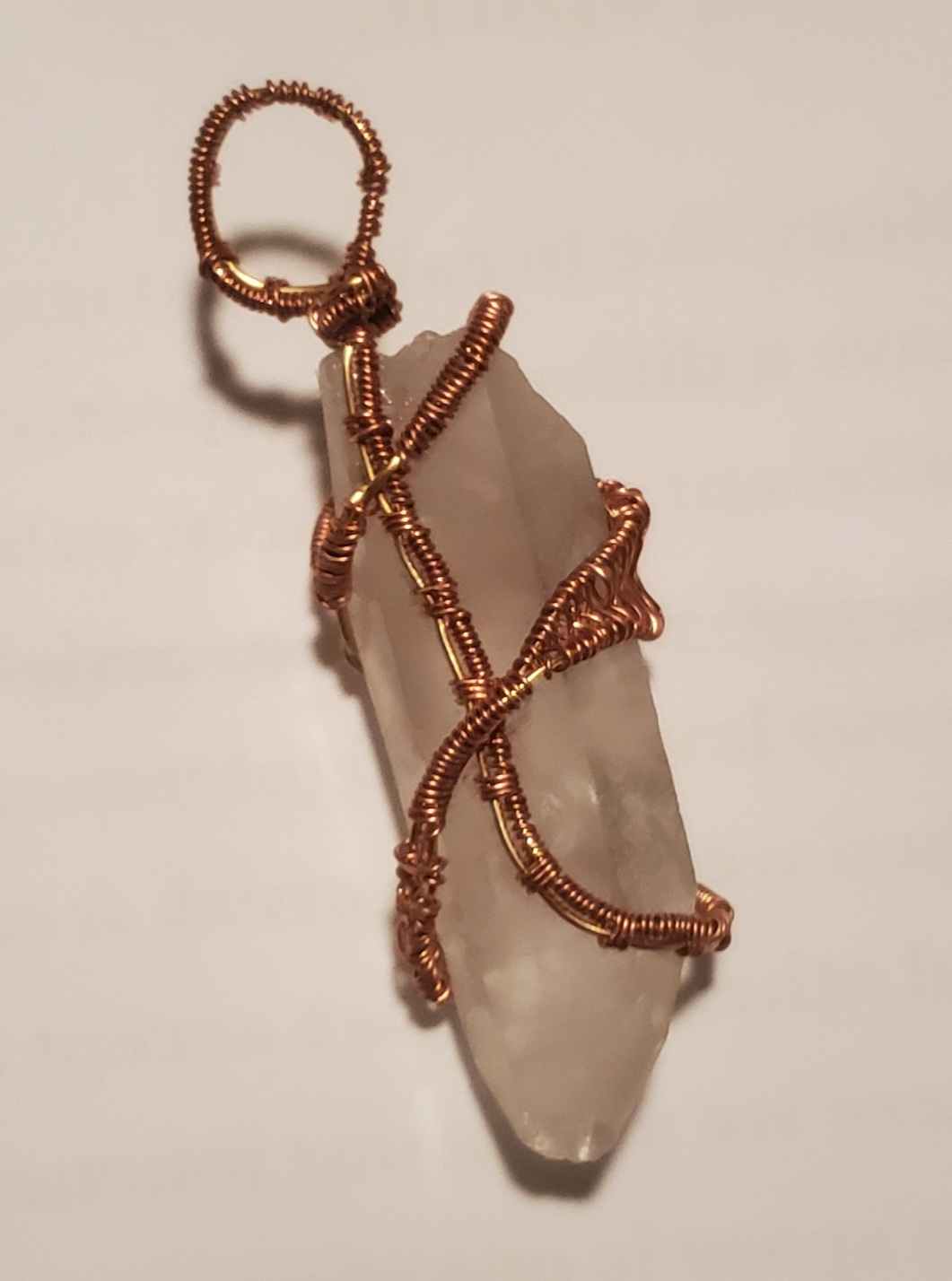 Crystals Wire Wrapped